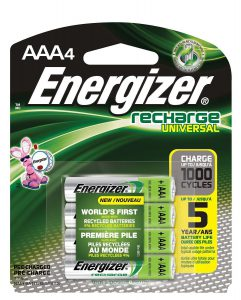 Energizer Reusable Batteries