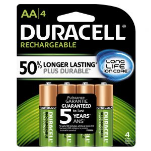 Duracel Resusable AA Batteries