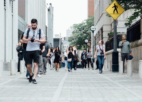 Drive Less Walk More: It's a choice!